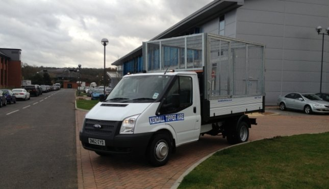 Need a Transit Tipper with Cage?