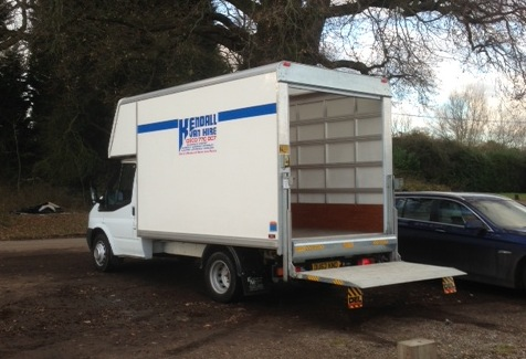 hire a luton van with tail lift in london surrey. Black Bedroom Furniture Sets. Home Design Ideas