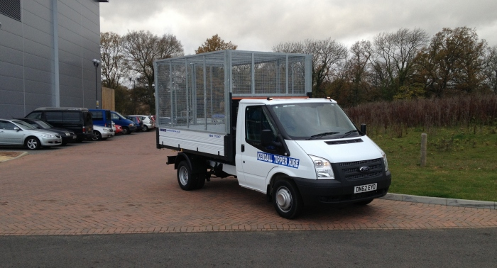 Caged Tipper Truck