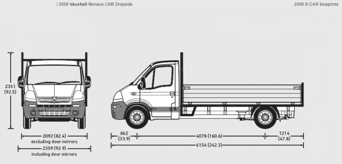 Transit Dropside Dimensions >> Hire a Tipper Truck in London, Surrey, Hampshire and Kent